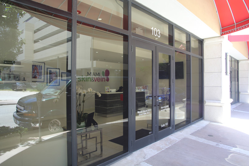 Exterior Office of Miami Skin & Vein in Coral Gables, FL