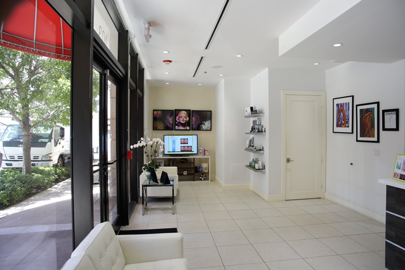 Lobby Area of Miami Skin & Vein Cosmetic Dermatology Center of Coral Gables