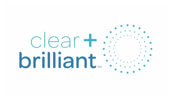 Clear + Brilliant Logo | Laser Skin Treatment Miami