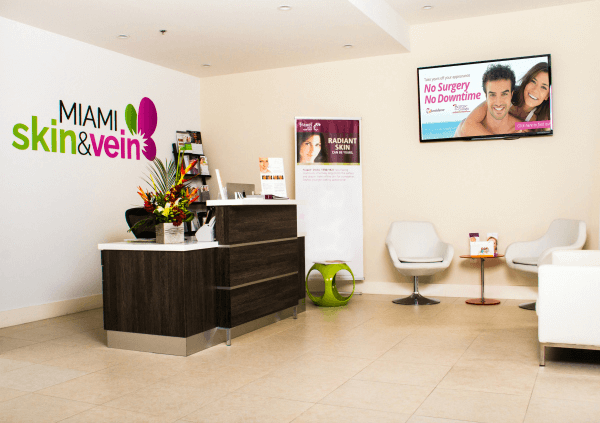 Lobby - Miami Skin & Vein Center