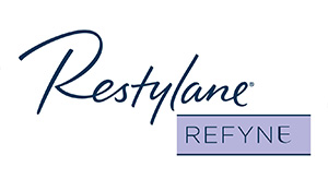 Restylane Refyne logo | Flexible facial filler in Coral Gables, Florida