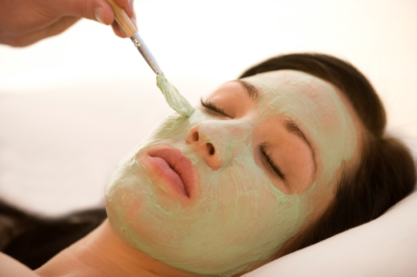 Woman getting facial | Chemical peel treatments Coral Gables